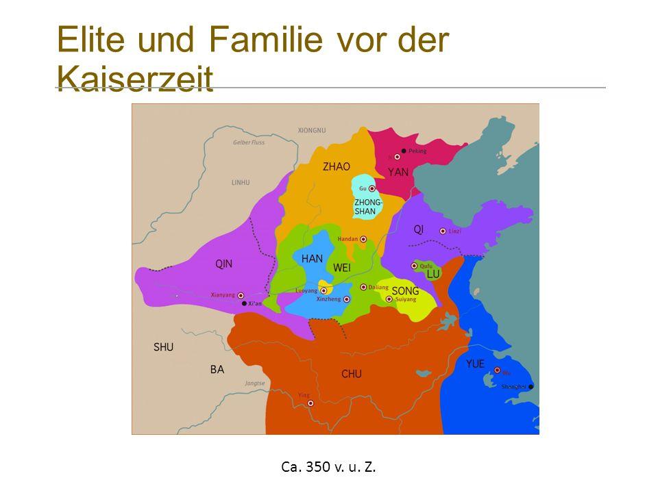Elite und Familie vor der Kaiserzeit Ca. 350 v. u. Z.