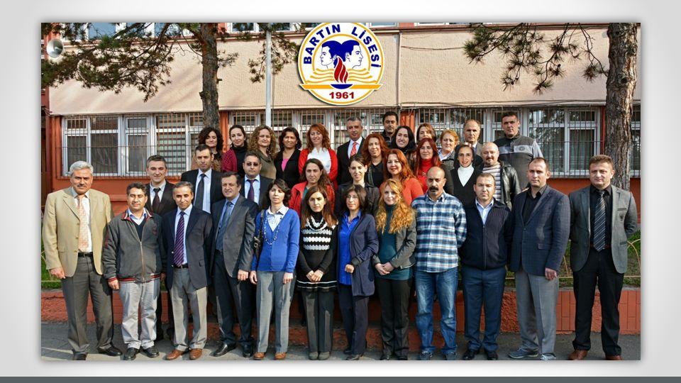 Unsere Schule ist eine Sekundarschule in der Türkei.