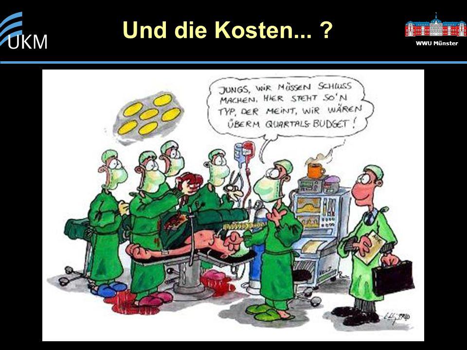 Und die Kosten... ? WWU Münster