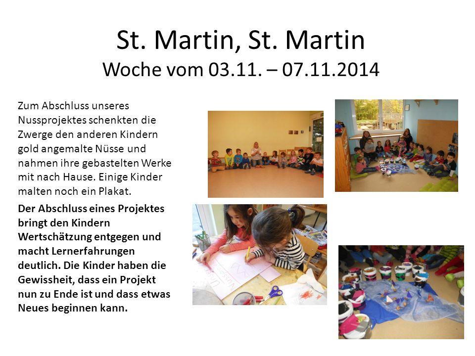 St. Martin, St. Martin Woche vom 03.11.