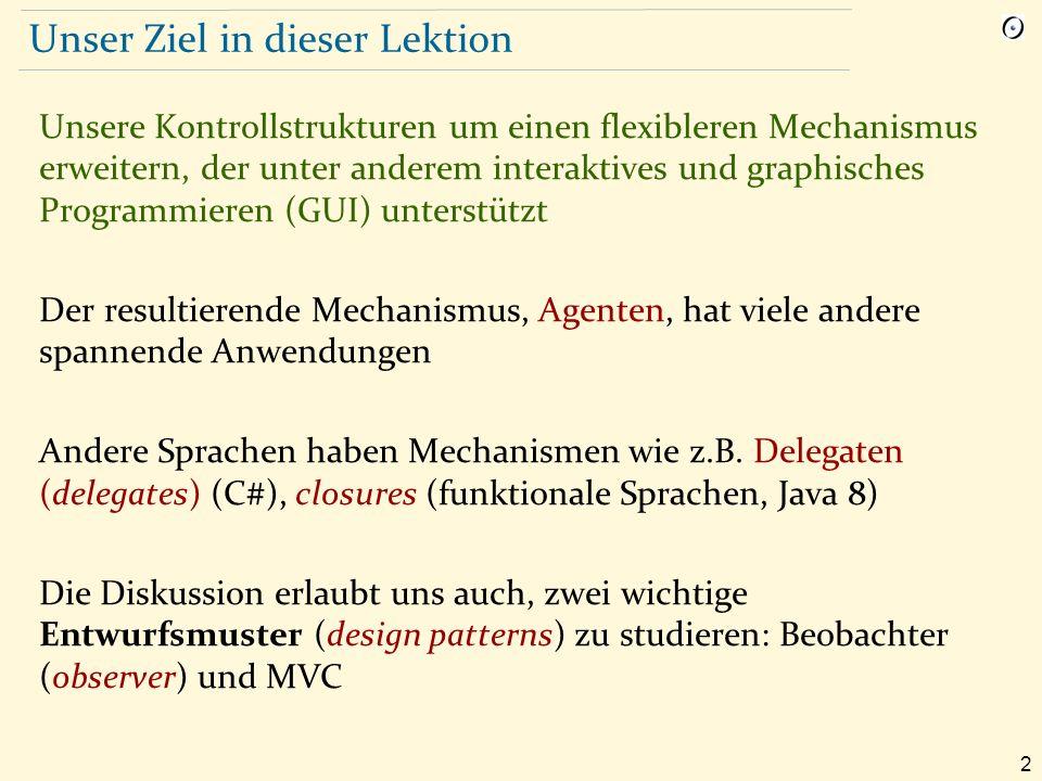 3 Input verarbeiten: traditionelle Techniken Das Programm führt den Benutzer: from i := 0 read_line until end_of_file loop i := i + 1 Result [i ] := last_line read_line end