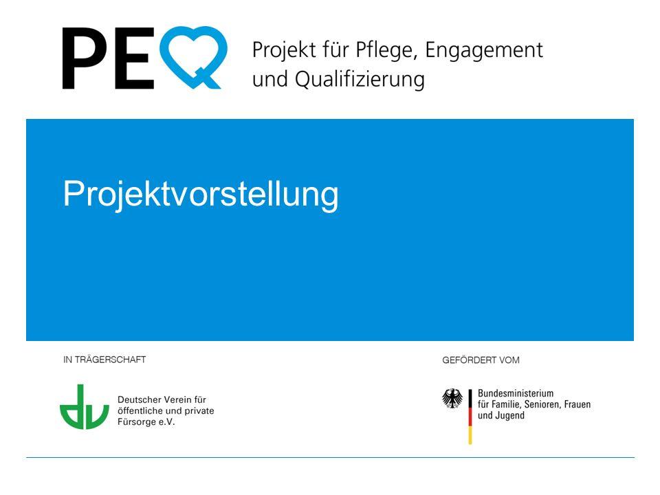 PEQ – Projekt für Pflege, Engagement und Qualifizierung // Projektvorstellung