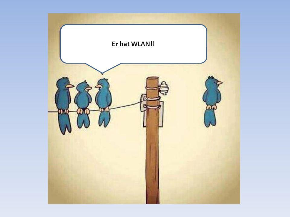 Er hat WLAN!!