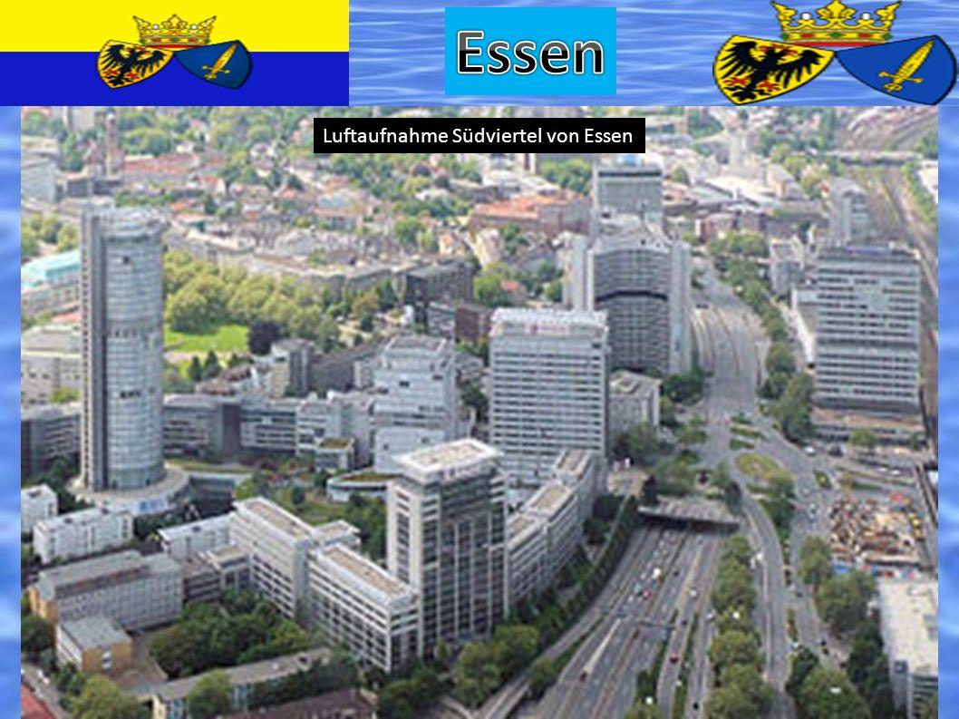 Luftaufnahme Südviertel von Essen