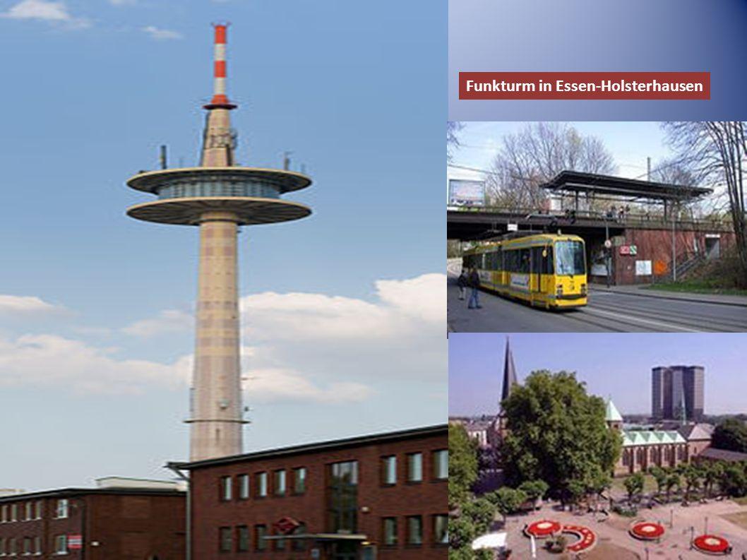 Funkturm in Essen-Holsterhausen