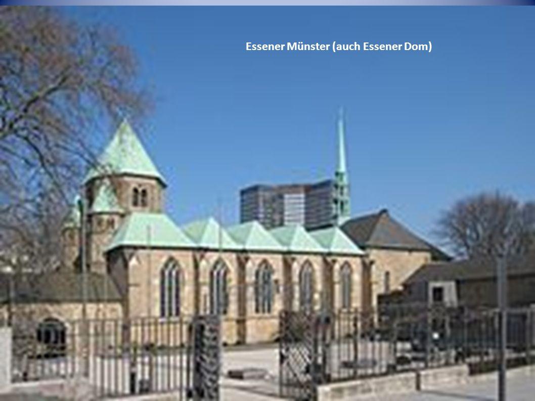 Essener Münster (auch Essener Dom)
