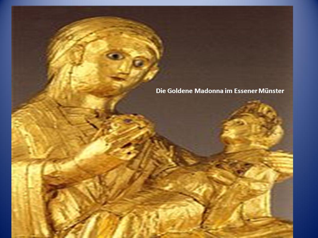 Die Goldene Madonna im Essener Münster