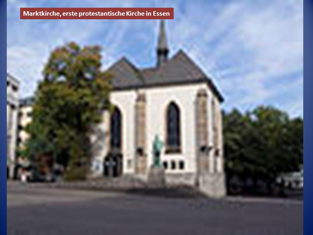 Marktkirche, erste protestantische Kirche in Essen
