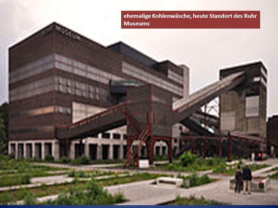 ehemalige Kohlenwäsche, heute Standort des Ruhr Museums