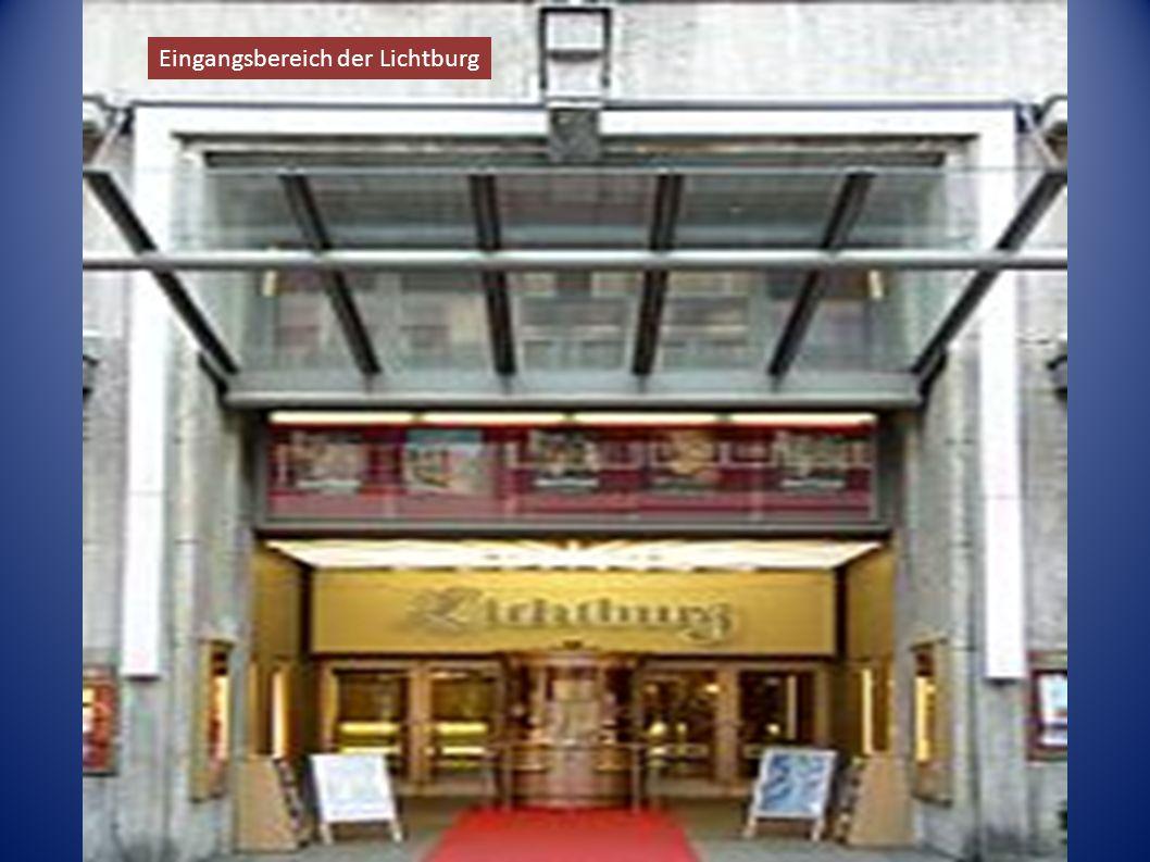 Eingangsbereich der Lichtburg