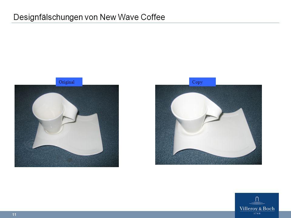11 OriginalCopy Designfälschungen von New Wave Coffee