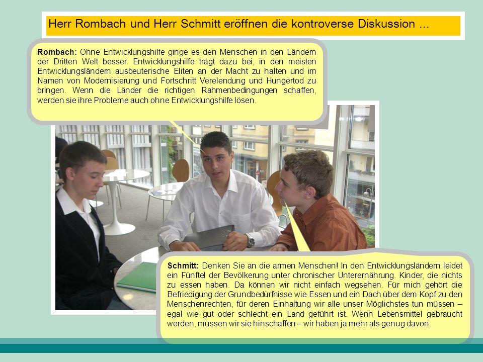 Rombach: In Not- und Katastrophenfällen mag das richtig sein.