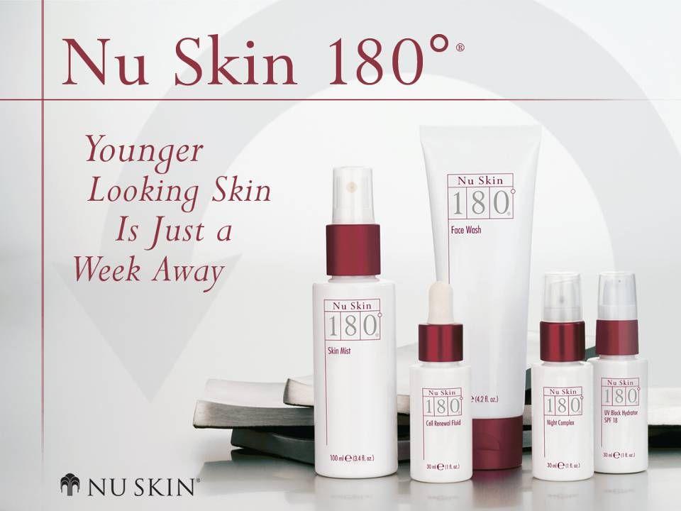 © 2001 Nu Skin International, Inc Nu Skin 180 ° ® Anti-Ageing Skin Therapy System Viele Anti-Ageing-Systeme sind zu aggressiv und reizen die Haut zusätzlich.