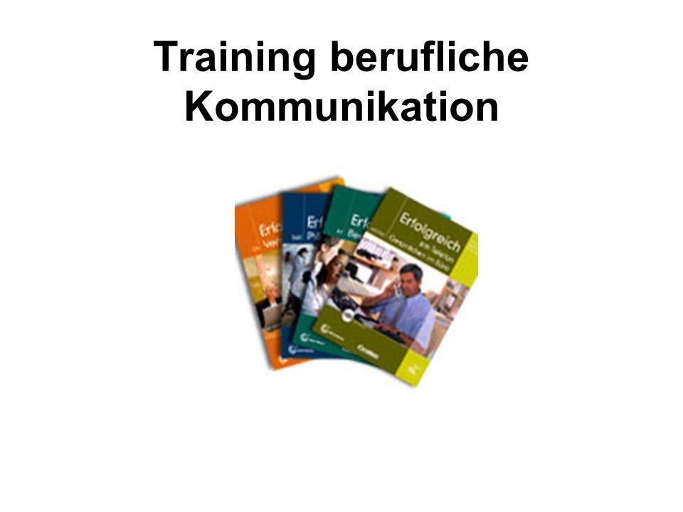 Training berufliche Kommunikation