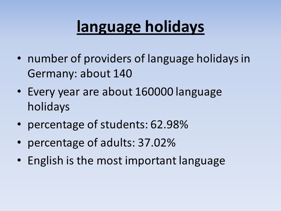 language holidays for students learn languages at exciting course locations all over the world linguistic concinnities --> job fun possibilities: Colleges, individual journeys, High School, international language camps