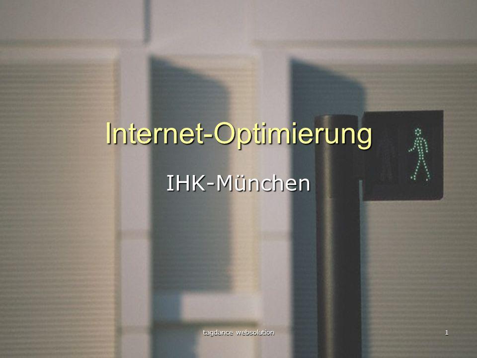 tagdance websolution 1 Internet-Optimierung IHK-München