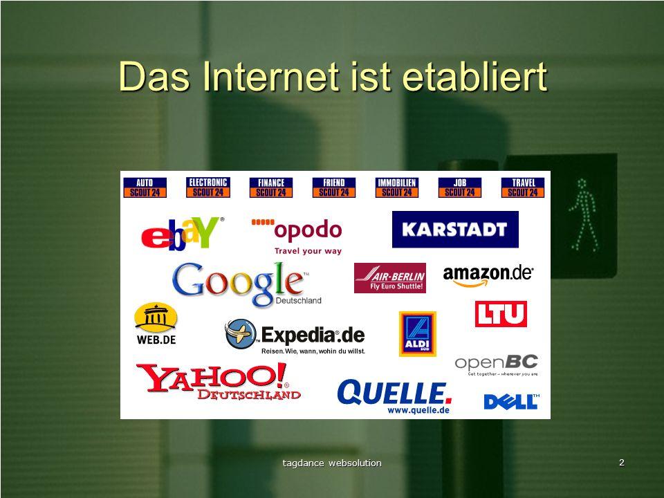 2 Das Internet ist etabliert