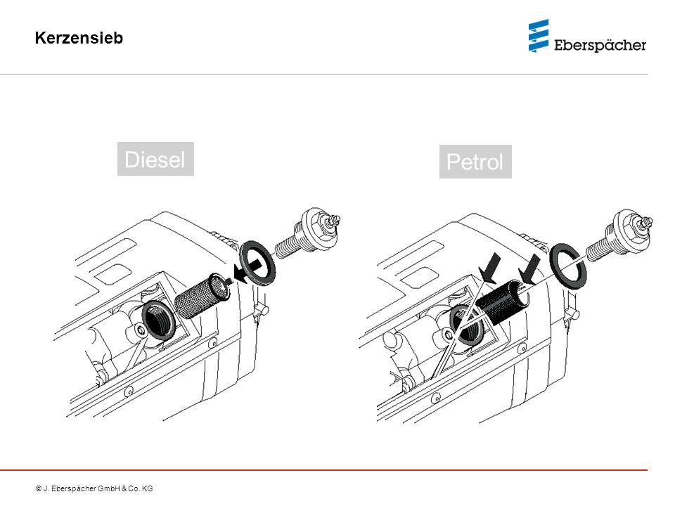 © J. Eberspächer GmbH & Co. KG Kerzensieb Petrol Diesel
