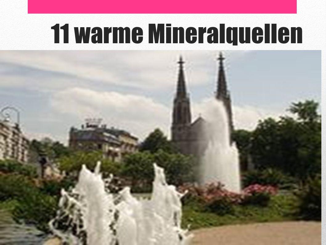 11 warme Mineralquellen