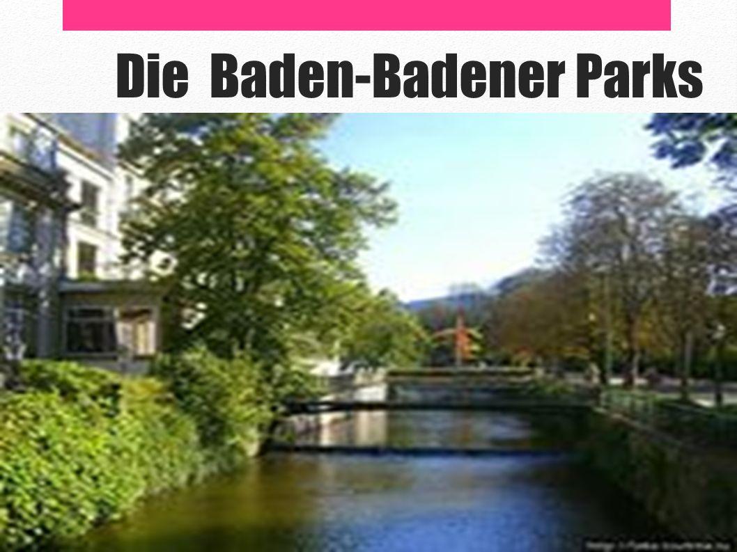 Die Baden-Badener Parks