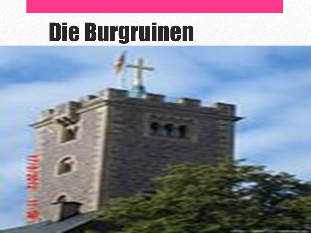 Die Burgruinen