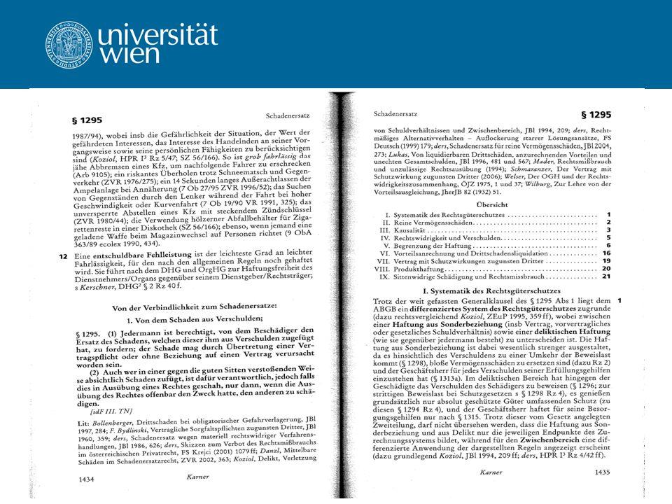 Univ.-Prof. Dr. Ernst Karner WS 2011/12143 Verfassen wissenschaftlicher Texte Formale Zitierregeln – Zitiertechnik Kommentare