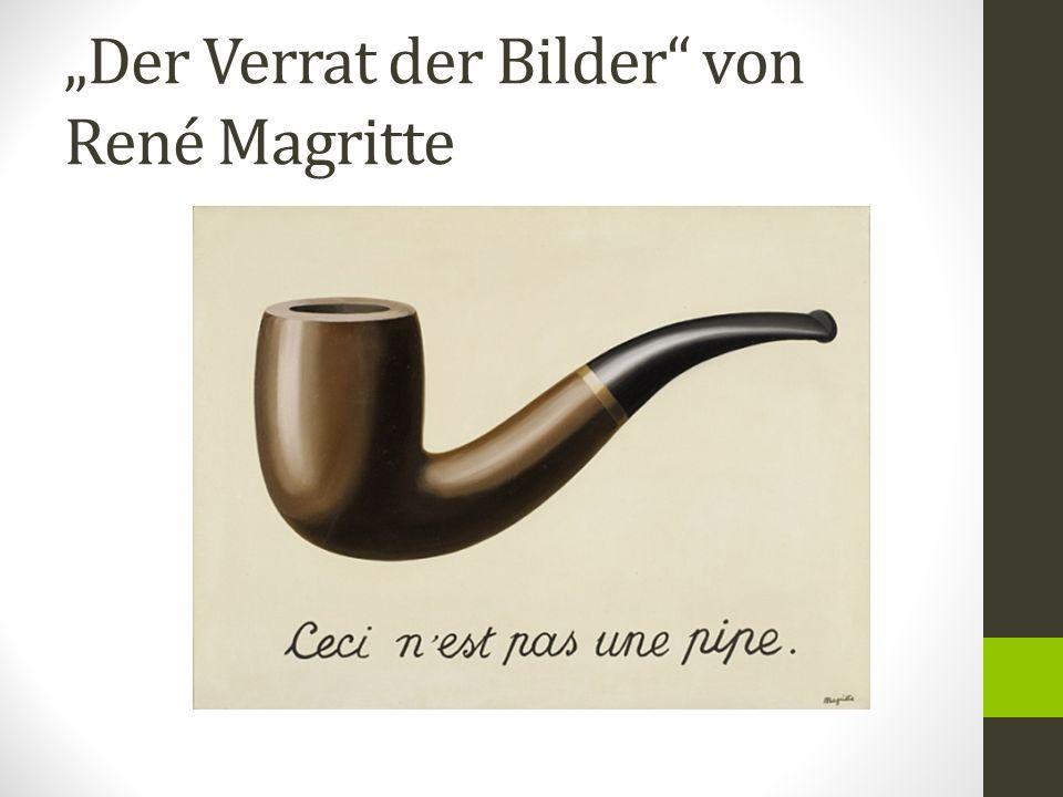 """""""Der Verrat der Bilder"""" von René Magritte"""