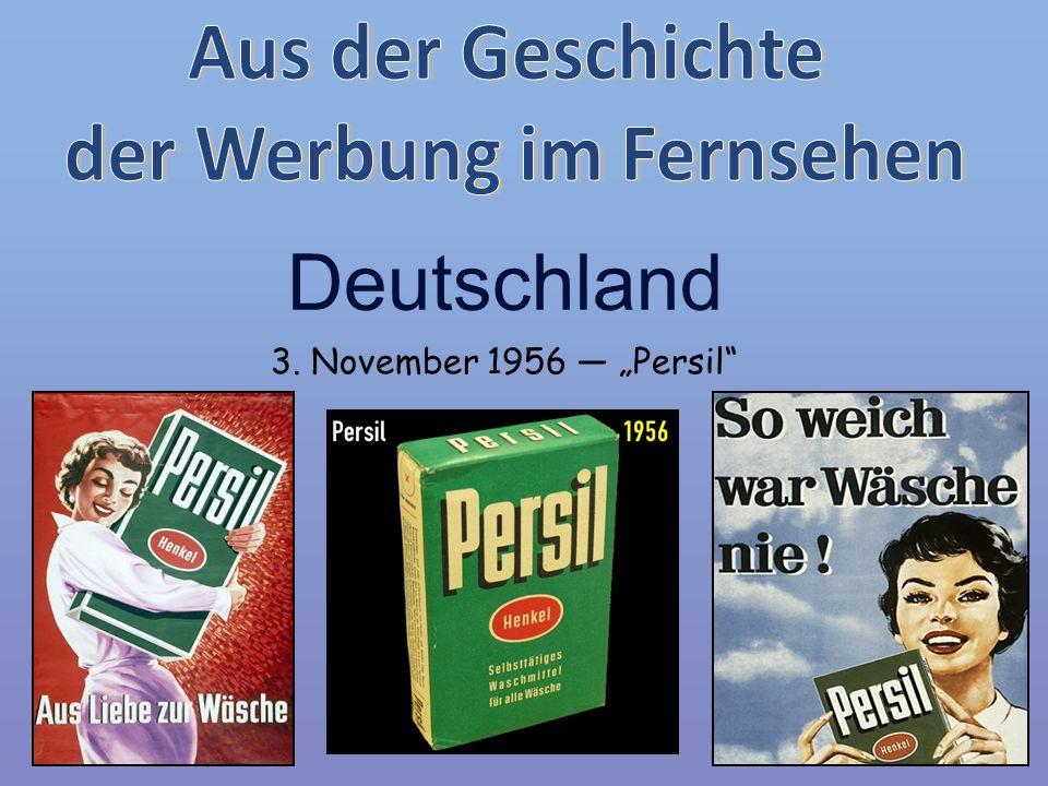 """Deutschland 3. November 1956 ― """"Persil"""""""