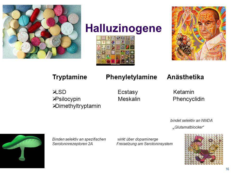 17 LSD Lysergsäurediethylamid 16.11.1938 Endeckung durch Albert Hofmann Starkes optisches Halluzinogen- NW Übelkeit, Puls-RR Anstieg, Körpertemperaturanstieg Schwindel und Unruhe  Therapeutisch: Modellpsychose-  in der analytischen Therapie zur Förderung seelischer Entspannung durch Freisetzung verdrängten Materials  Behandlung der Alkoholkrankheit  Krebs im Endstadium -in den 70iger Jahren als nicht verkehrsfähiger Stoff eingebaut LSD cured my headache...368 x 367 · 35 kB Zur Seite:http://current.com/items/89400479_lsd_cured_my_headachehttp://current.com/items/89400479_lsd_cured_my_headache