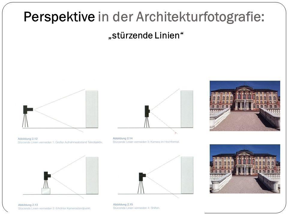 """Perspektive in der Architekturfotografie: """"stürzende Linien"""""""