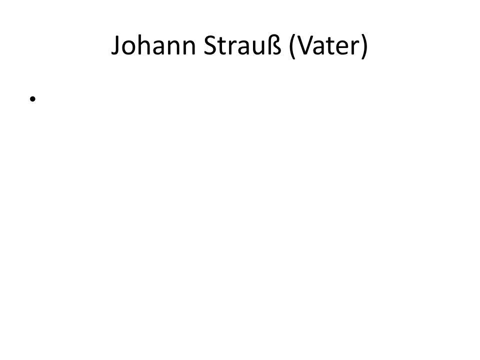 Johann Strauß (Vater)