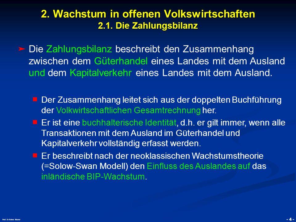 © RAINER MAURER, Pforzheim - 5 - Prof.Dr. Rainer Maurer 2.