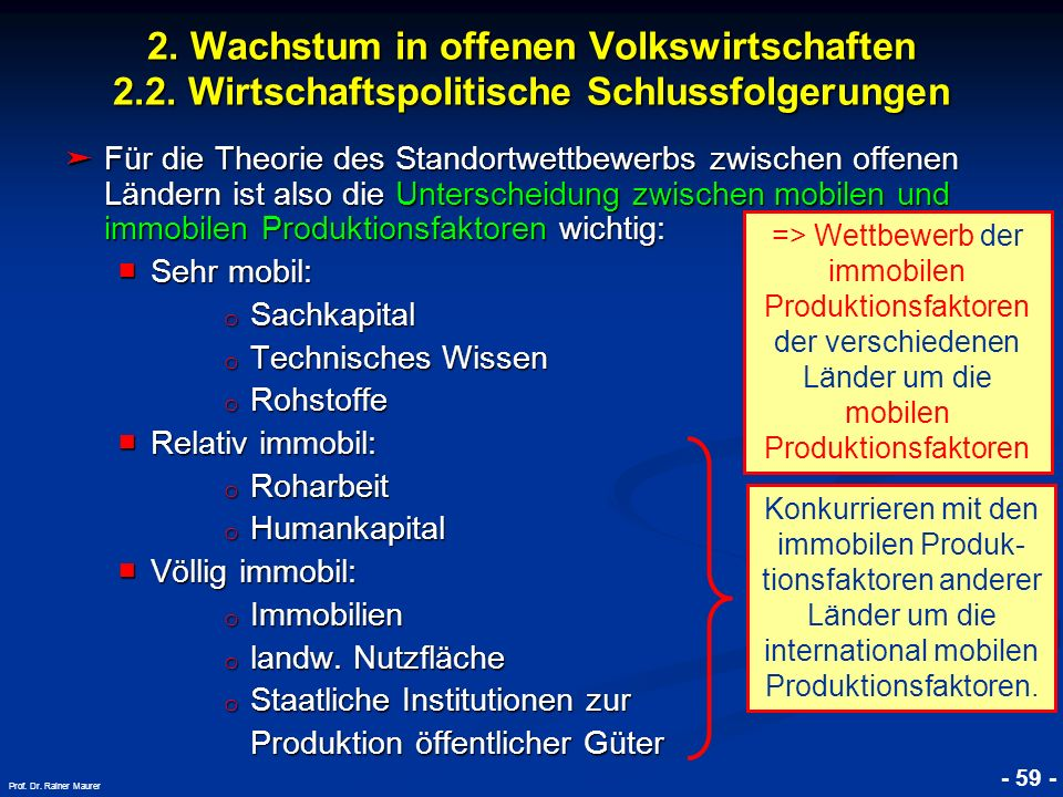 © RAINER MAURER, Pforzheim - 60 - Prof.Dr. Rainer Maurer 2.