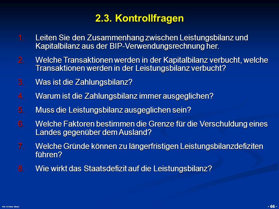 © RAINER MAURER, Pforzheim - 67 - Prof.Dr. Rainer Maurer 2.3.
