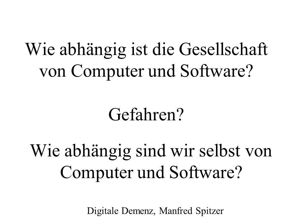 Wie verlässlich ist Software? Wie kann man die Zuverlässigkeit von Software verbessern?