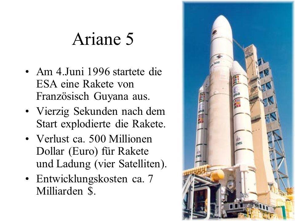 Ariane 5 (4.6.1996) http://enumath2013.epfl.ch/PublicR egistrationForm_2.php