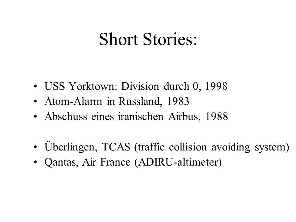 Irakkrieg: Abschuss eines britischen Flugzeugs, April 2003 Falklandkrieg 1982: Versenken der Sheffield durch argentinische Exocet mit Nato-Kennung Fri