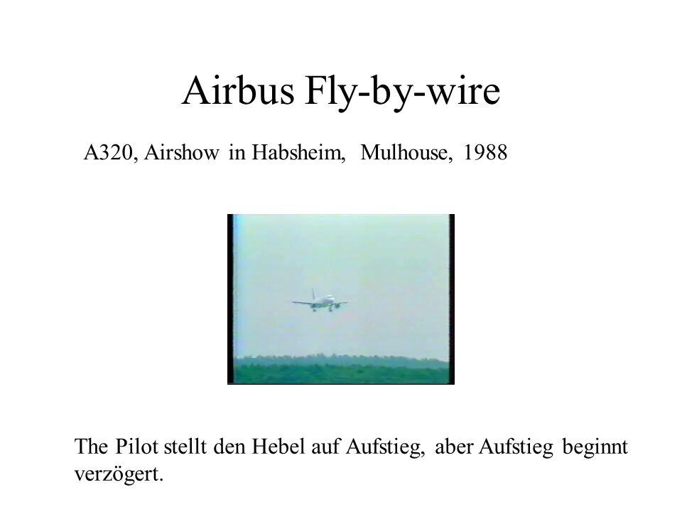 Airbus Schubumkehr, Warschau, 1993