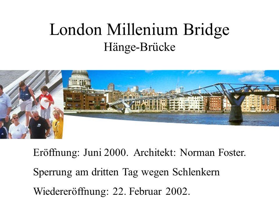 London Millenium Bridge (2000)