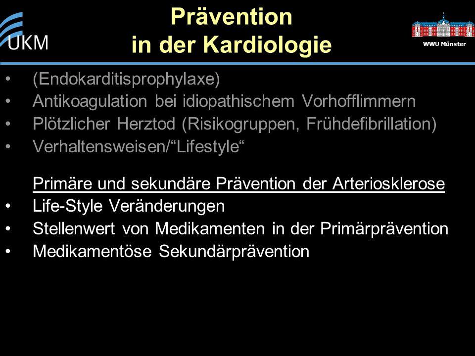 WWU Münster Risikofaktoren