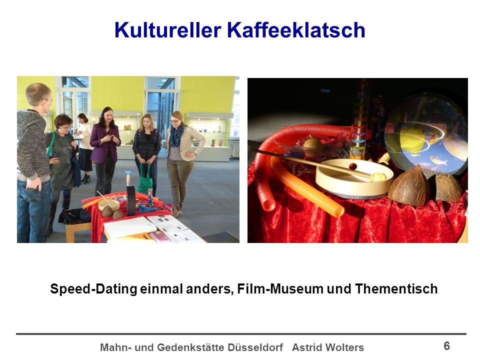 Mahn- und Gedenkstätte Düsseldorf Astrid Wolters 7 3.
