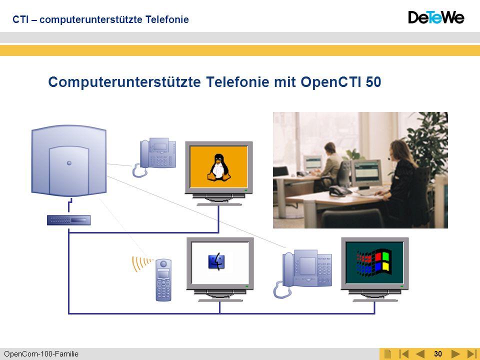 OpenCom-100-Familie29 OpenVoice 200 Lizenzen OpenVoice 210 10 Sprachboxen OpenVoice 202 2 Sprachboxen inkl.