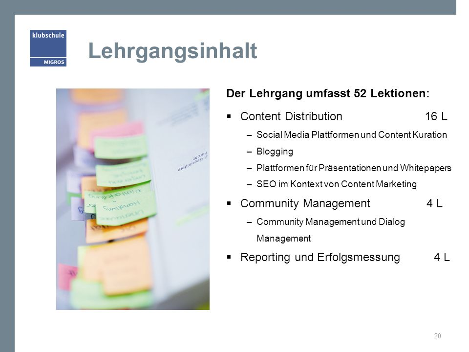 Lehrmittel: Think Content! 21