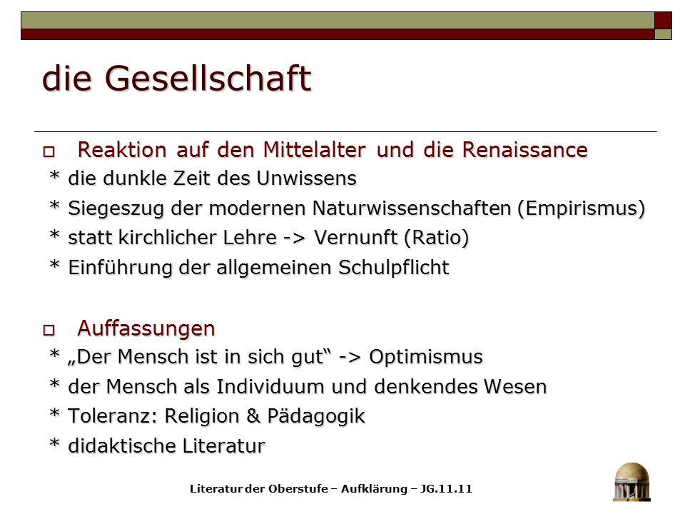 die Politik  Der Staat * Absolutismus * Absolutismus * Deutschland: eine Kleinstaaterei * Deutschland: eine Kleinstaaterei * Standesethik vs.