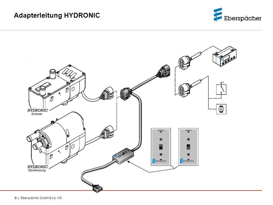 © J. Eberspächer GmbH & Co. KG Adapterleitung HYDRONIC