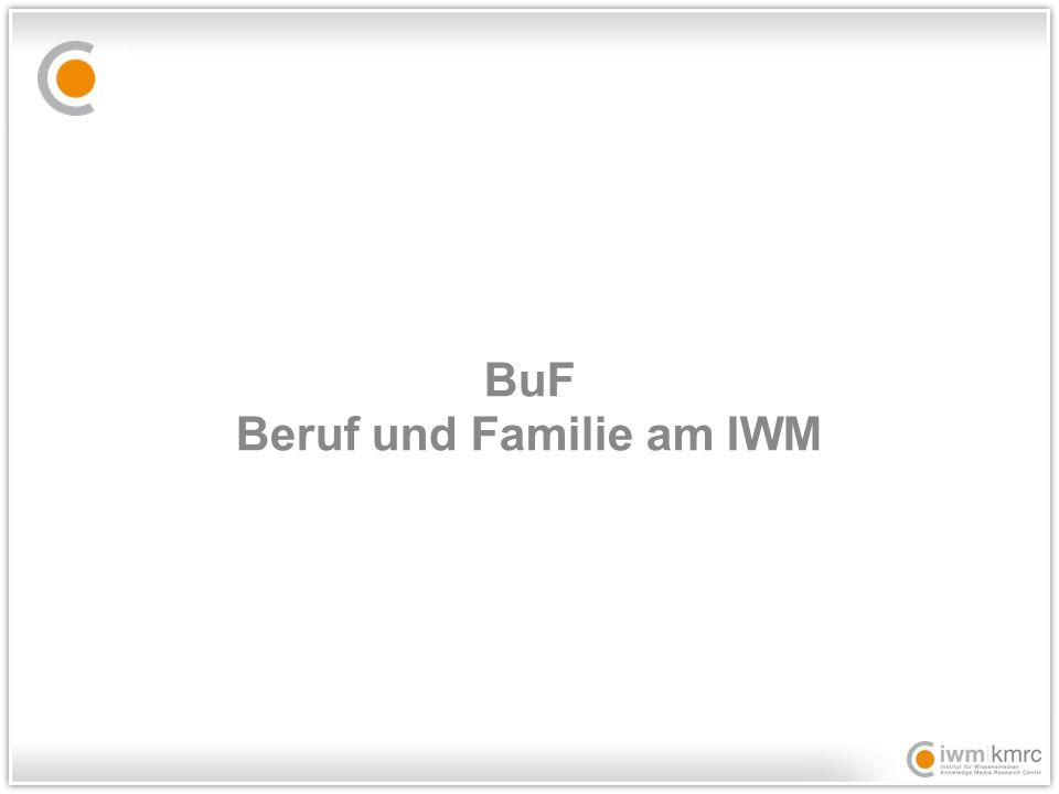 BuF Beruf und Familie am IWM