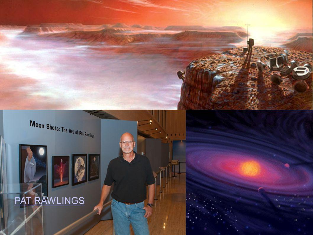 Robert McCall (1919 - 2010) http://www.mccallstudios.com/ http://en.wikipedia.org/wiki/Robert_McCall_(artist) Chesley Bonestell (1888 – 1986) http://www.bonestell.com/the_chesley_bonestell_archives001.htm http://en.wikipedia.org/wiki/Chesley_Bonestell Lucien Rudaux (1874 – 1947) http://io9.com/lucian-rudaux/ http://en.wikipedia.org/wiki/Lucien_Rudaux Charles Wilp (1932 - 2005) http://de.wikipedia.org/wiki/Charles_Paul_Wilp http://www.sf-fan.de/aktuelle-meldungen/der-erste-artronaut-ein-interview-mit-charles- wilp.html