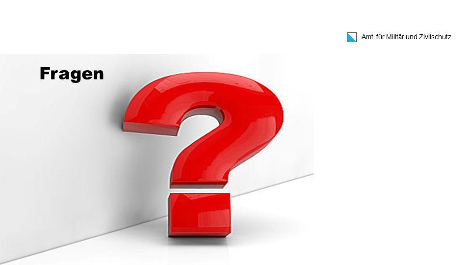 Amt für Militär und Zivilschutz WBK ZS Kdt II-16, 17. August 2015 Fragen