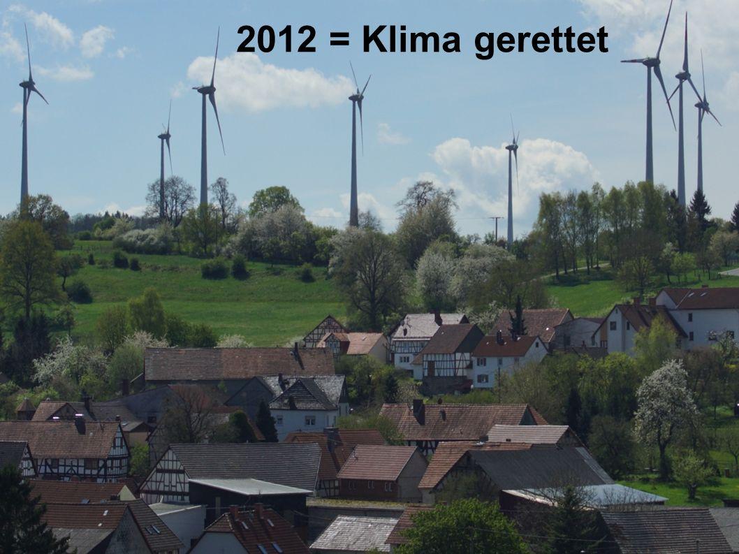 2012 = Klima gerettet