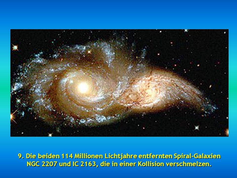 """8. Dieses wundervolle Bild nennt sich """"Starry night"""", auch unter """"Light Echo"""" bekannt."""